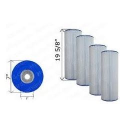 Cartridge Filters - 4 Pack - PA81-PAK4
