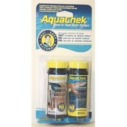 AQUACHEK TEST STRIPS FOR SALT & CHLOR.