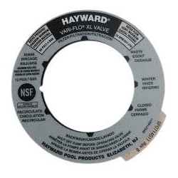 HAYWARD SP0714T COVER LABEL